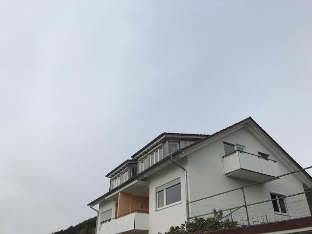 Wohnungsansicht von Aussen